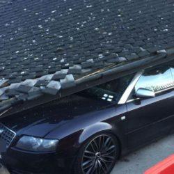 Водитель мусоровоза обрушил на кабриолет Audi S4 крышу парковки » Новости со всего мира,Интересные новости,Интересные факты,Новости России сегодня,.
