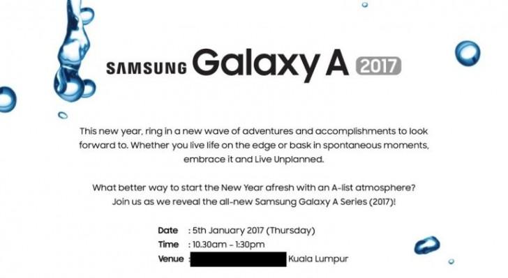 Названа дата анонса смартфонов Samsung Galaxy A образца 2017 года