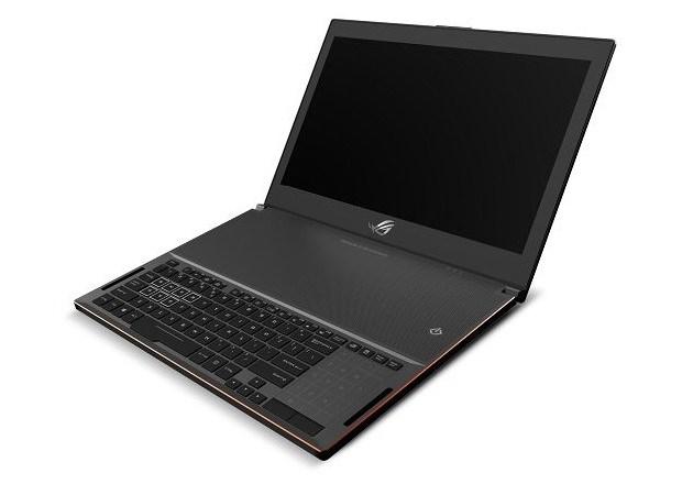 Игровой ноутбук Asus ROG GX501 при толщине менее 17 мм будет располагать 3D-картой GeForce GTX 1080