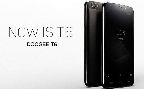 Смартфон Doogee T6: новая версия с усиленным аккумулятором
