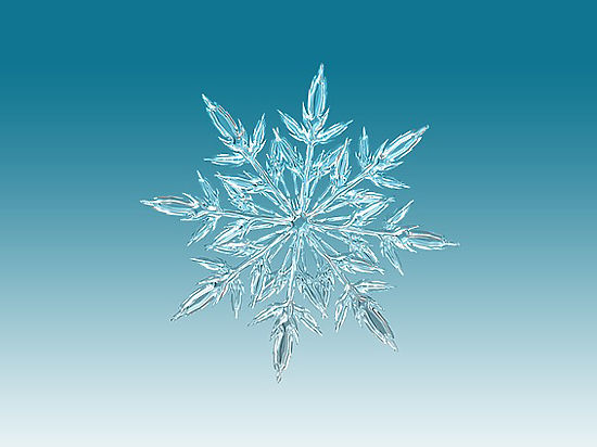 Доказано, что во всей Вселенной не существует двух одинаковых снежинок