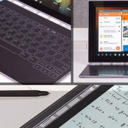 Lenovo выпустит мобильный компьютер Yoga Book с Chrome OS в будущем году