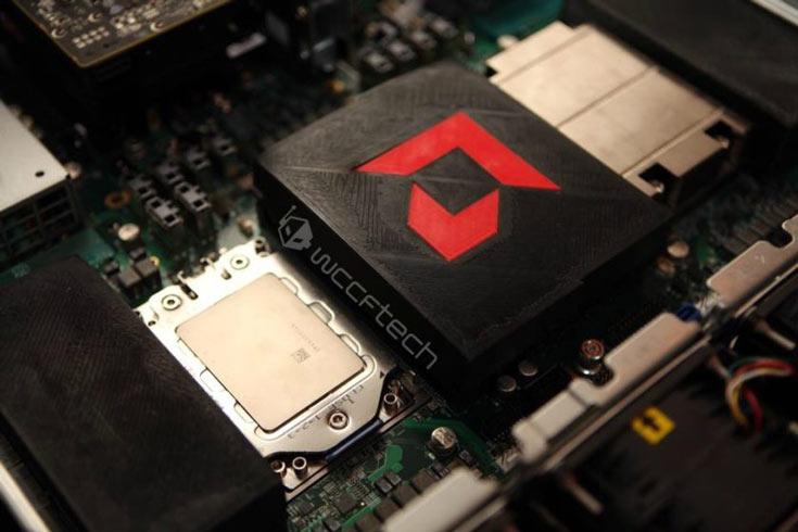 Фото дня: 16-ядерный серверный процессор AMD Zen (Naples)