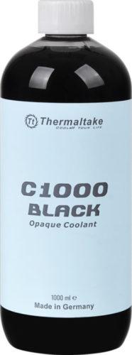 В линейку Thermaltake C1000 вошла первая в мире черная охлаждающая жидкость для компьютерных СВО