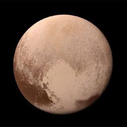 NASA смонтировало видеозапись посадки New Horizons на Плутон «в цвете»