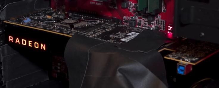 Фото дня: 3D-карта на GPU AMD Vega