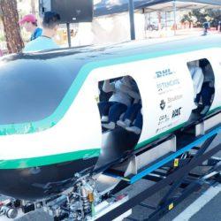 Прошли первые испытания в рамках конкурса Hyperloop Pod Competition