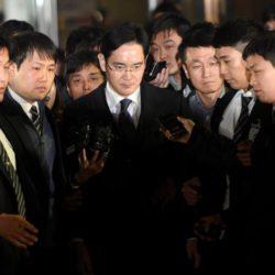 Вице-президент компании Samsung Electronics Ли Джей арестован