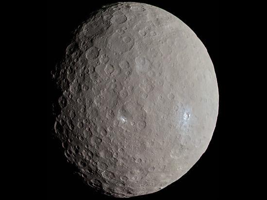 Планетологи заподозрили, что раньше Церера была покрыта вулканами-пирамидами