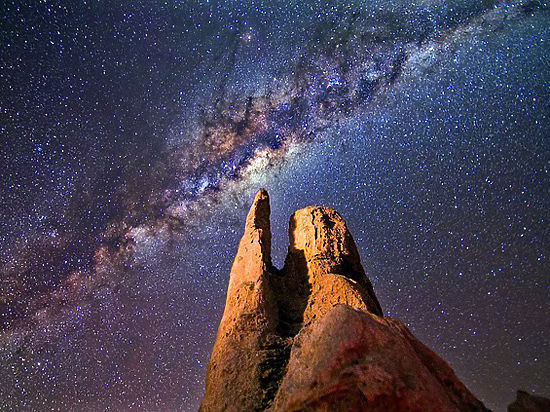 В галактике Андромеды обнаружены следы темной материи