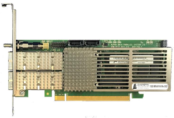 Накопители Everspin nvNITRO на памяти MRAM демонстрируют производительность 1 500 000 IOPS и неограниченный ресурс
