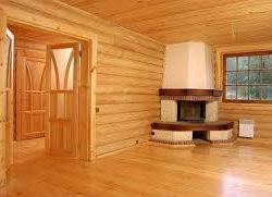 Отделка деревянного дома
