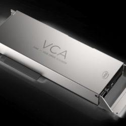 Intel Visual Compute Accelerator 2 — ускоритель для работы с видео и графикой, основанный на трёх процессорах Xeon E3-1500 v5
