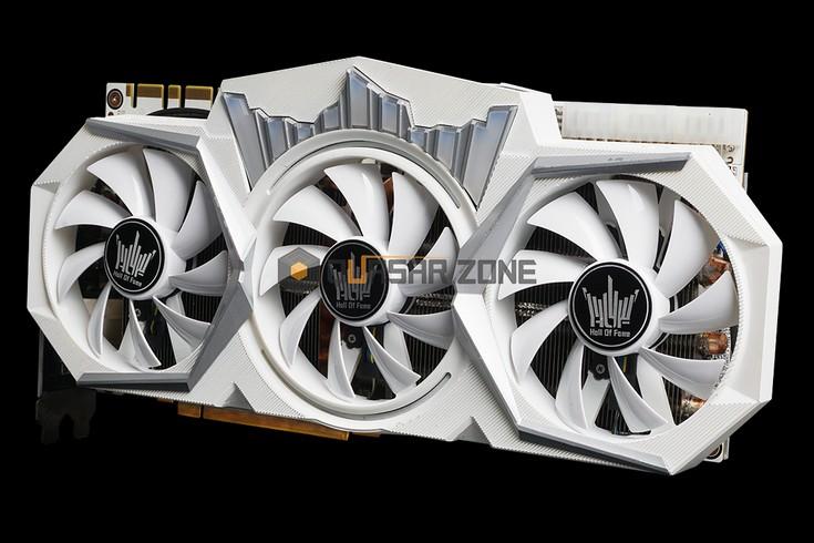 Видеокарта Galax GeForce GTX 1080 Ti HOF получила 19-фазную подсистему питания и три восьмиконтактных разъёма дополнительного питания