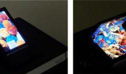 Специалистами AUO разработан складной дисплей AMOLED, охватывающий 95% цветового пространства BT.2020