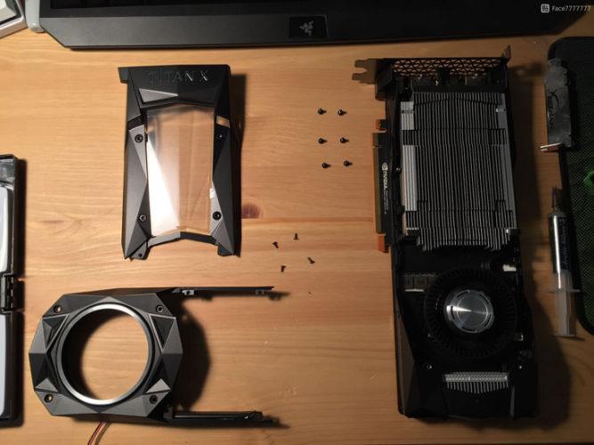 Основой 3D-карты Nvidia Titan Xp служит GPU Pascal GP102-450-A1