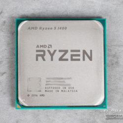 Появились игровые результаты процессора AMD Ryzen 5 1400