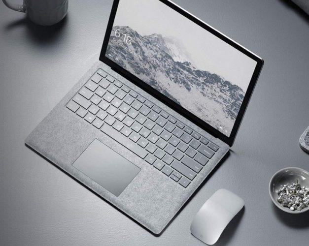 Microsoft Surface Laptop — ноутбук с нестандартным экраном, алькантарой, хорошей автономностью и ОС Windows 10 S