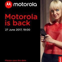 Анонс Moto Z2 назначен на 27 июня