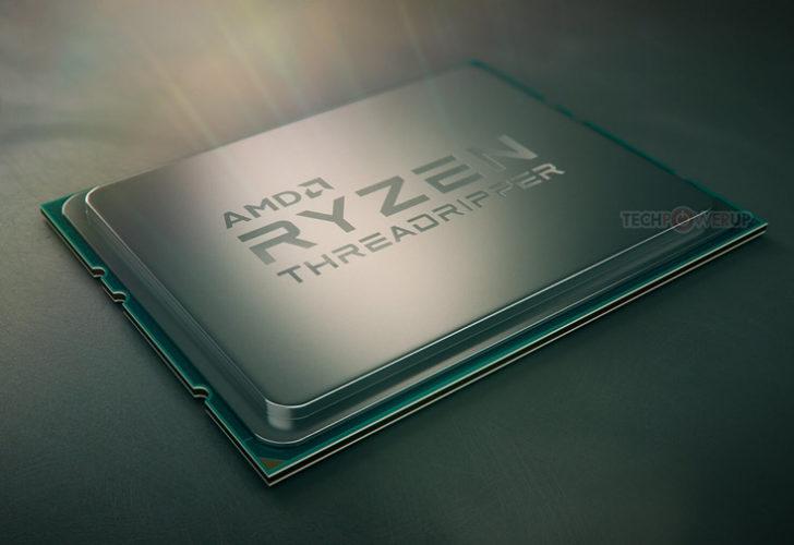 Продажи процессоров AMD Ryzen Threadripper могут начаться 27 июля