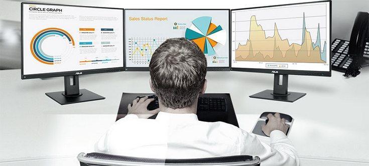 Asus представила 27-дюймовый бизнес-монитор BE27AQLB