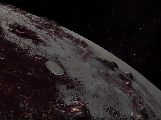 NASA опубликовало шокировавшее ученых видео пролета над Плутоном и Хароном