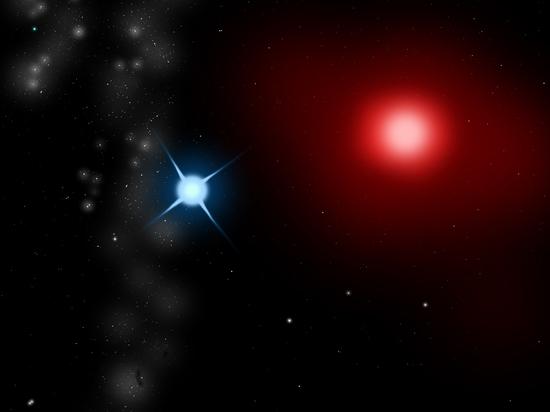 Получен первый в истории детальный снимок чужой звезды