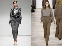 Женские брюки: модные тенденции осени