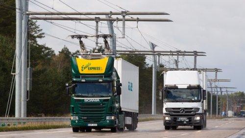 Компания Siemens готовится к запуску первого участка электрифицированной магистрали eHighway в Германии