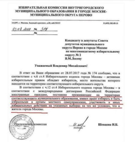 В московских выборах смогут принять участие граждане Туркмении и Киргизии