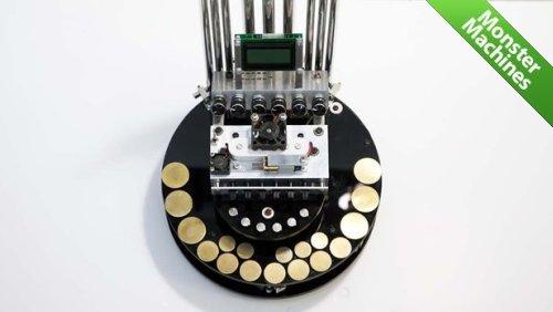 Машины-монстры: Мотоорган - миниатюрный орган, использующий электродвигатели в качестве источника звука