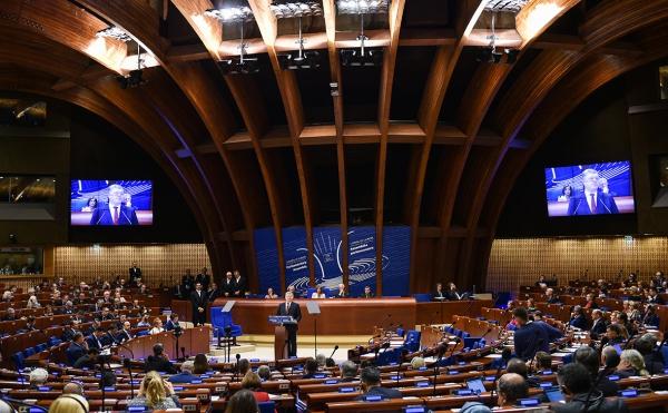 Делегация Украины потребовала у Совета Европы подать в суд на Россию