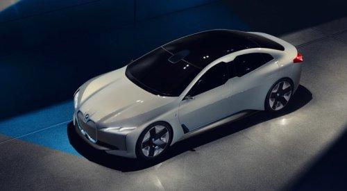 Компания BMW представляет i Vision Dynamics - будущего конкурента Tesla Model S