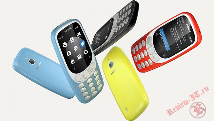 В Европе появился в продаже телефон Nokia 3310 с поддержкой 3G