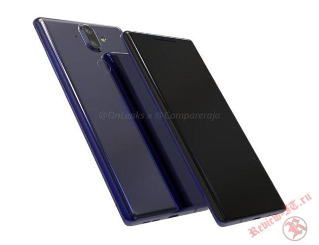 Рендеры смартфона Nokia 9 опубликованы в Интернете