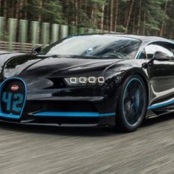 0-400-0 километров в час за 42 секунды - автомобиль Bugatti Chiron устанавливает новый мировой рекорд