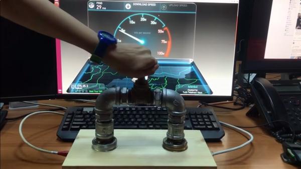 Контролировать скорость интернета с помощью вентиля? Теперь можно!