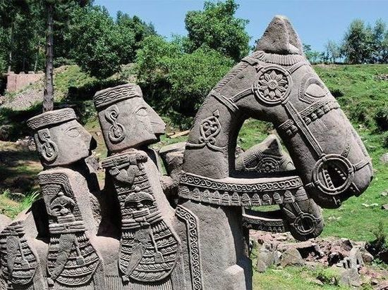 В Гималаях найдены уникальные скульптуры эпохи раннего Средневековья