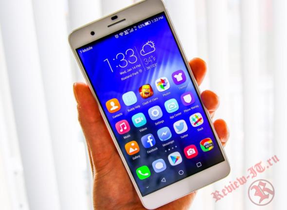 В интернете появилось новое изображение смартфона Huawei Honor 6C Pro
