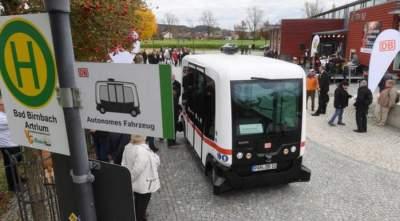 В Баварии запустили первый автономный автобус