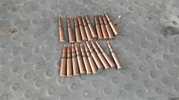 """В фонд """"Подари жизнь"""" принесли несколько коробок с патронами для снайперской винтовки"""