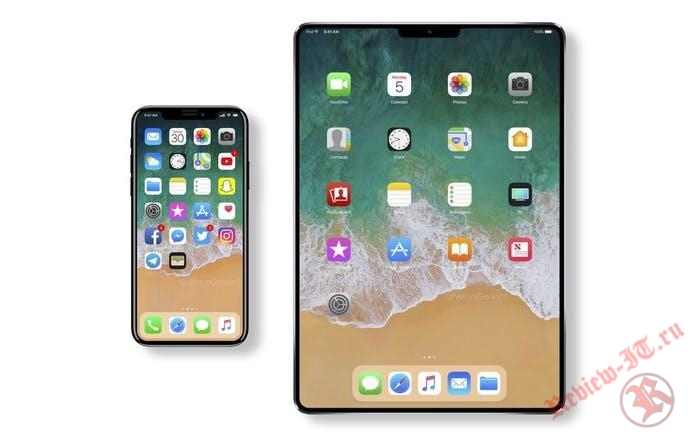 Apple, возможно, выпустит новый iPad Pro в стиле iPhone X