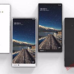Компания Sharp планирует выпустить новый безрамочный смартфон