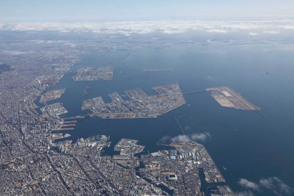 Искусственный остров города Кобе