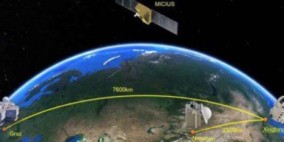 Китайский спутник Micius продемонстрировал возможность создания глобальной квантовой сети