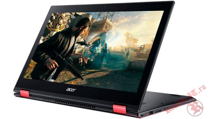 Ультрабук Acer Nitro 5 Spin оснащен процессором Intel Core i5