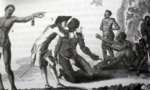 Зачем хозяин облизывает раба?