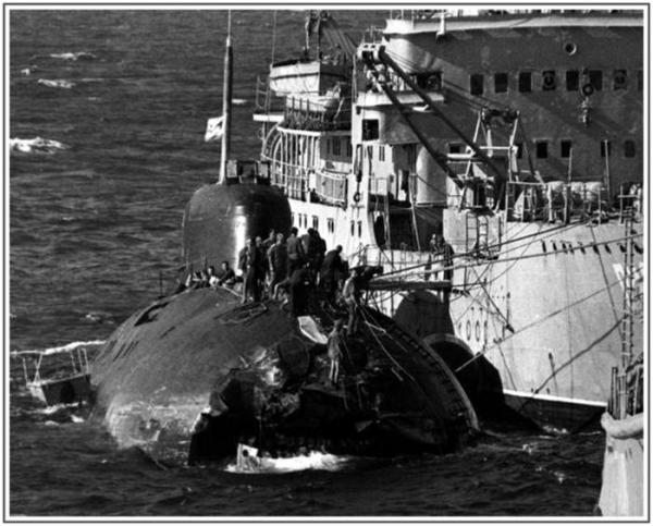 Лодка К–314, 21 марта 1984 года, Японское море