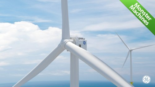 Машины-монстры: Haliade-X - самый большой и мощный ветрогенератор в мире на сегодняшний день