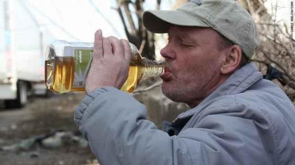 Что пьют алкаши на Западе